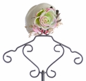 Arabella Rose Vintage Jewels Couture Hat