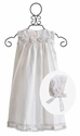 Baby Biscotti Cherished Heirloom White Christening Gown