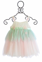 Baby Biscotti Frilly Dress for Little Girls (12Mos,24Mos,3T)
