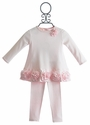 Baby Biscotti Infant Dress with Legging Couture Cutie