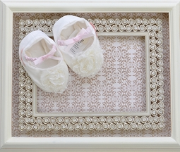 Baby Biscotti Ivory Baby Booties