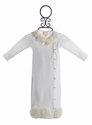 Baby Biscotti Ivory Take Home Gown