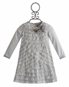Baby Biscotti Little Girls Holiday Dress Silver Spoon