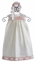 Baby Biscotti Little Girls Ivory Christening Gown Cherished Heirloom