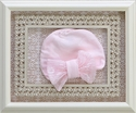 Baby Biscotti Macherie Amour Pink Infant Hat