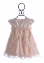 Baby Biscotti Pink Infant Birthday Girl Dress (12 mos)