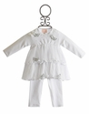 Baby Biscotti Winter Wonderland Infant Dress with Legging
