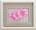 Baby Bling Flower Headband in Pink