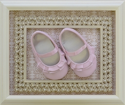 Baby Deer Baby Girl Shoes in Pink