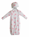 Baby Nay Newborn Take Home Gown and Hat