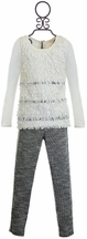 Baby Sara Fall 2016 Girls Top with Leggings