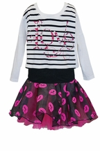 Baby Sara Girls Skirt Set Love