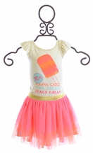 Baby Sara Girls Tutu Skirt Set with Popsicle
