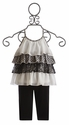 Baby Sara Little Girls Capri Outfit