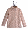 Baby Sara Pink Faux Fur Coat for Girls