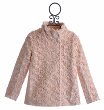 Baby Sara Pink Faux Fur Coat for Girls (2T,3T,4T,4)