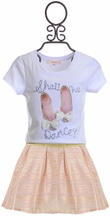 Baby Sara Shall We Dance Skirt Set