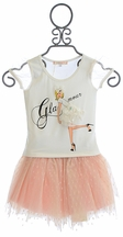 Baby Sara Skirt Set for Girls Glamour Gal (18Mos,24Mos,6X)
