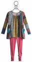 Baby Sara Sweater Knit Tunic with Pink Legging