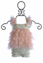 Babys in Bloom Baby Girls Romper Dress in Pink Ruffles