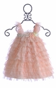 Babys in Bloom Pink Ruffles Little Girls Dress