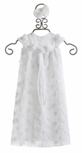 Bebemonde Girls White Christening Gown and Headband