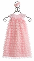 Bebemonde Infant Pink Fancy Gown with Headband