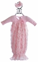 Bebemonde Pink Rose Garden Newborn Take Home Gown