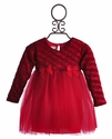 Bebemonde Red Holiday Chenille Girls Tutu Dress