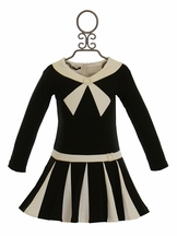 Biscotti Black and White Girls Dress Perfect Harmony (5 & 6)