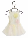 Biscotti Chic Confection Dress for Girls with Tutu Skirt