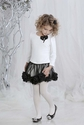 Biscotti Class Act Little Girls Top and Skirt