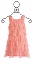 Biscotti Coral Lace Dress for Tweens