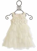 Biscotti Creme De La Creme Designer Dress for Girls (18Mos,3T,4T)