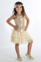 Biscotti Deck the Halls Ivory Dress