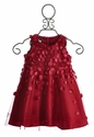 Biscotti Falling for Dots Little Girls Red Dress