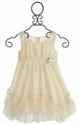 Biscotti French Antique Dress with Lace