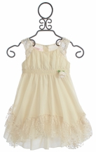 Biscotti French Antique Dress with Lace (18Mos,6,6X,7,8,10)