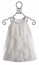 Biscotti Girls Dress in White Once Upon A Princess (Size 4)