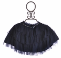 Biscotti Girls Holiday Cape in Navy