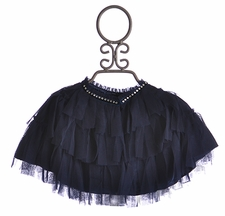 Biscotti Girls Holiday Cape in Navy (4,7,8,14)