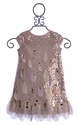 Biscotti Girls Holiday Dress Falling Petals