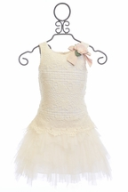Biscotti Girls Lace Dress with Tutu