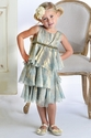Biscotti Girls Luxurious Dress Tiered Princess