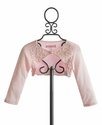 Biscotti Girls Shrug Pink with Beading