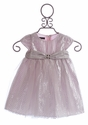 Biscotti Glittering Infant Dress Pretty Princess Pink