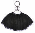 Biscotti Holiday Cape for Tweens in Black