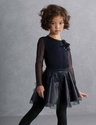 Biscotti Holiday Pleather Skirt Set for Girls