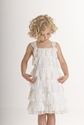 Biscotti Ivory Lace Girls Dress