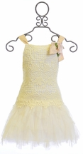 Biscotti Lace Dress Fairytale Romance (7 & 10)